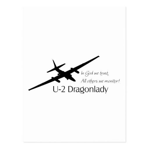 ¡U-2 en dios que confiamos en, todos los otros Postal