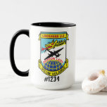 """U-2 Solo Coffee Mug 15oz<br><div class=""""desc"""">Adequately holds liquids for the best pilots in the world.</div>"""
