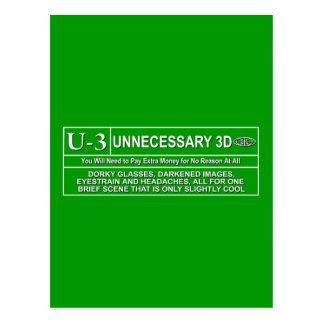 U-3 clasificado postales