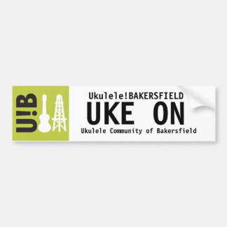 """U!B """"Uke on"""" Sticker"""
