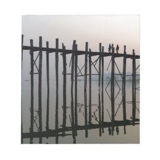 U Bein Bridge, Amarapura Notepad