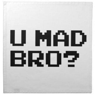 ¿U BRO ENOJADO? - Internet/meme/IRC/chat/4chan/tro Servilletas De Papel