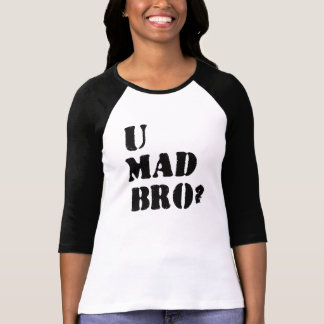 ¿U Bro enojado? Playera