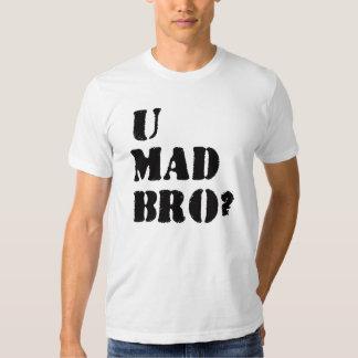 ¿U Bro enojado? Remera