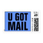 U consiguió el correo sellos