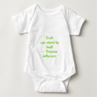 !!! U Create Truth  can stand by itself Baby Bodysuit