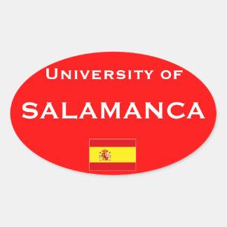 U del pegatina del Europeo-estilo de Salamanca