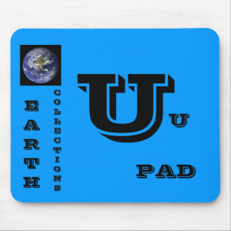 U, EARTH, COLLECTIONS, U, PAD MOUSE PAD