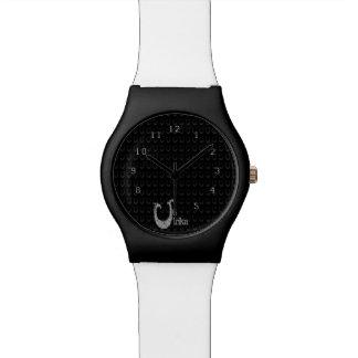 U - El alfabeto de Falck (plateado) Relojes De Pulsera