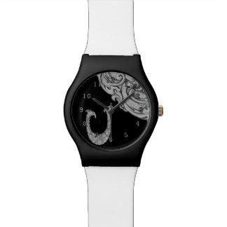 U - El alfabeto de Falck (plateado) Reloj