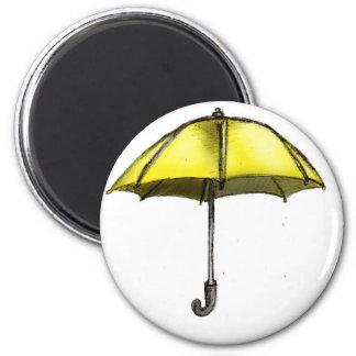 U está para el paraguas iman