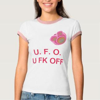 U F O   -   U FK OFF TEE SHIRT
