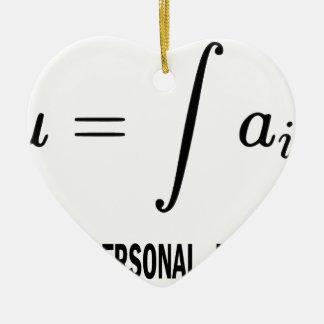 U = Fail Ceramic Ornament