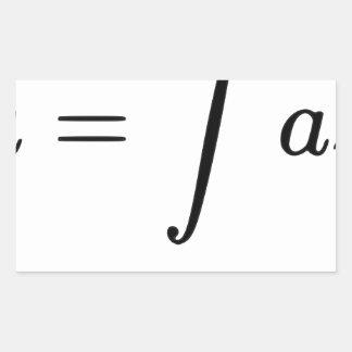 U = Fail Rectangular Sticker