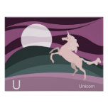 U for unicorn Poster