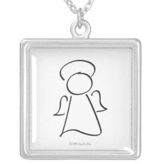 u got angels  keepsake necklace
