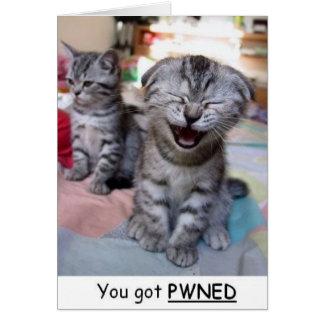 U got pwned card