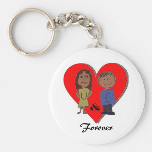 """U & I Forever"" Keychains"