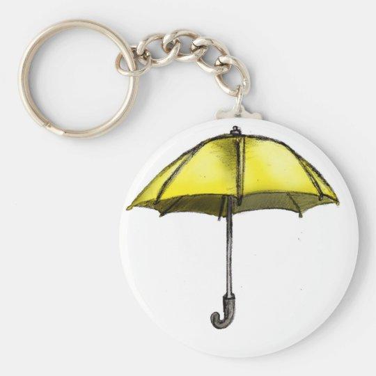 U is for Umbrella Keychain