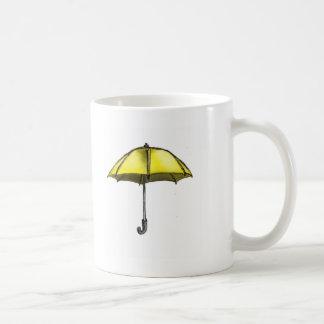 U is for Umbrella Coffee Mugs