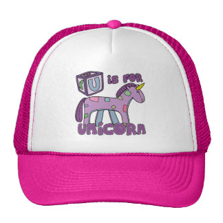 U is for Unicorn Hat