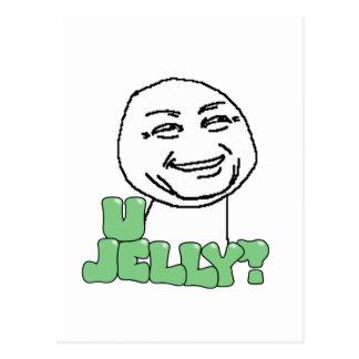 U Jelly? Post Card