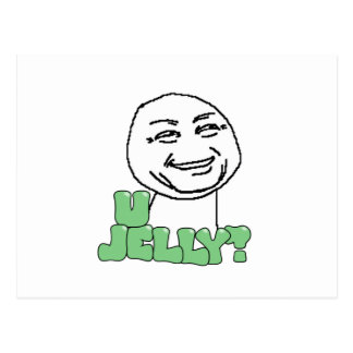 U Jelly? Postcard