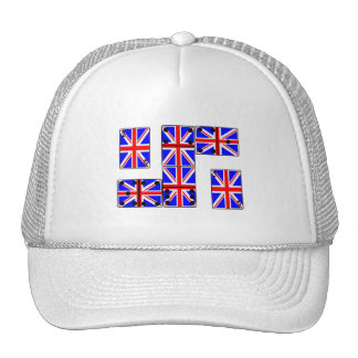 U K Ace Cards and Domino s Mesh Hat