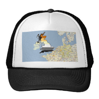 U K Bear Pride Trucker Hat