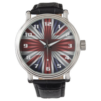 U.K Flag The union Jack Very Cool Design Wrist Watches