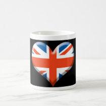 U.K. HEART COFFEE MUG