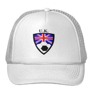 U K Soccer Trucker Hat