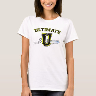 U Layout 2S Yellow Baby Doll Fitted T-Shirt