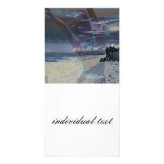 (u) libre tarjeta con foto personalizada
