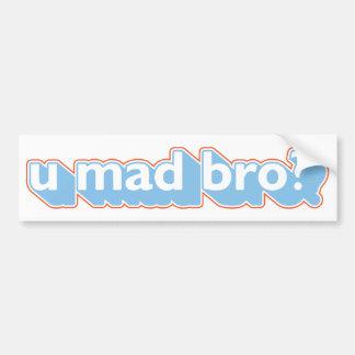 U mad bro? car bumper sticker