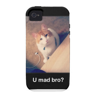U Mad Bro? Vibe iPhone 4 Cover