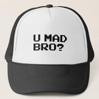 U MAD BRO? - internet/meme/irc/chat/4chan/troll Trucker Hat