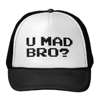 U MAD BRO? meme/chat/irc/4chan/troll/trolling Trucker Hat