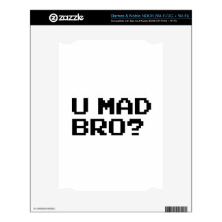 U MAD BRO? meme/chat/irc/4chan/troll/trolling Skin For The NOOK