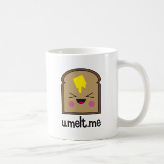 U me derrite taza de café