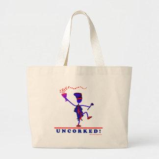U N C O R K E D ! TOTE BAGS