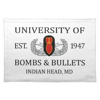U of B&B Indian Head Cloth Placemat