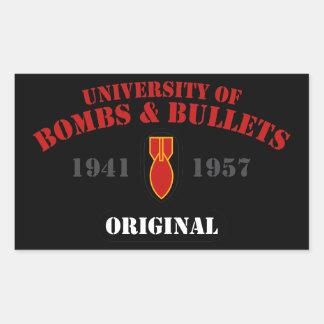 U of B&B Original Rectangular Sticker