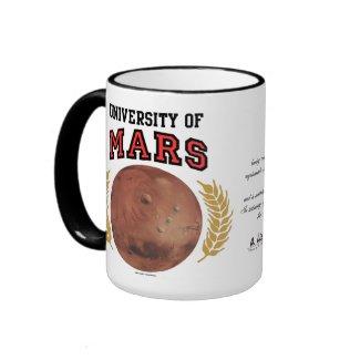 University Of Mars Diplo-Mug