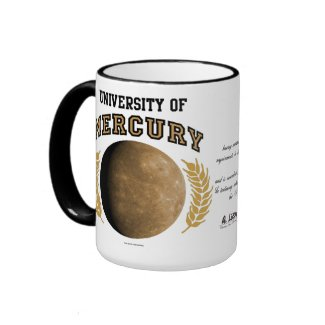 University Of Mercury Diplo-Mug