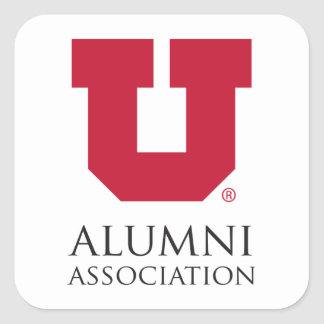 U of U Alumni Association Square Sticker