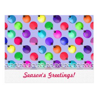 U Pick Color/ Antique Christmas Tree Ornaments Postcard
