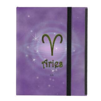 U Pick Color/ Aries Zodiac Sign iPad Case