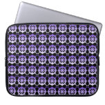 U-pick Color Background Lavender Lace Laptop Sleeves