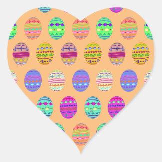 U-pick Color/ Bedazzled Easter Eggs w/ Rhinestones Heart Sticker
